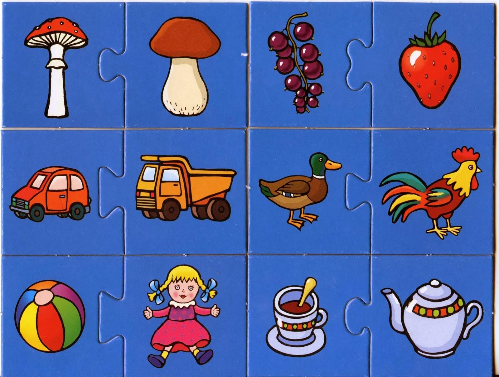 Что развивают у детей картинки