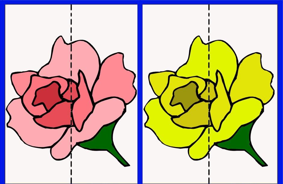 шаблоны разрезных картинок течение пяти