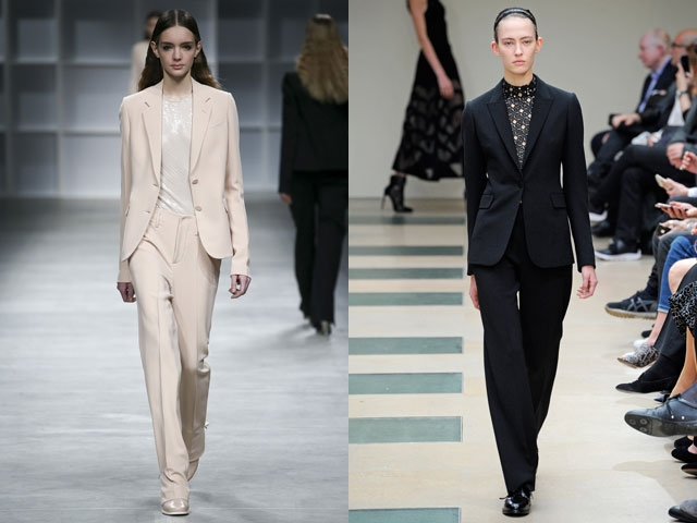 578fb28e987 Модные женские костюмы - что предлагает мода 2018