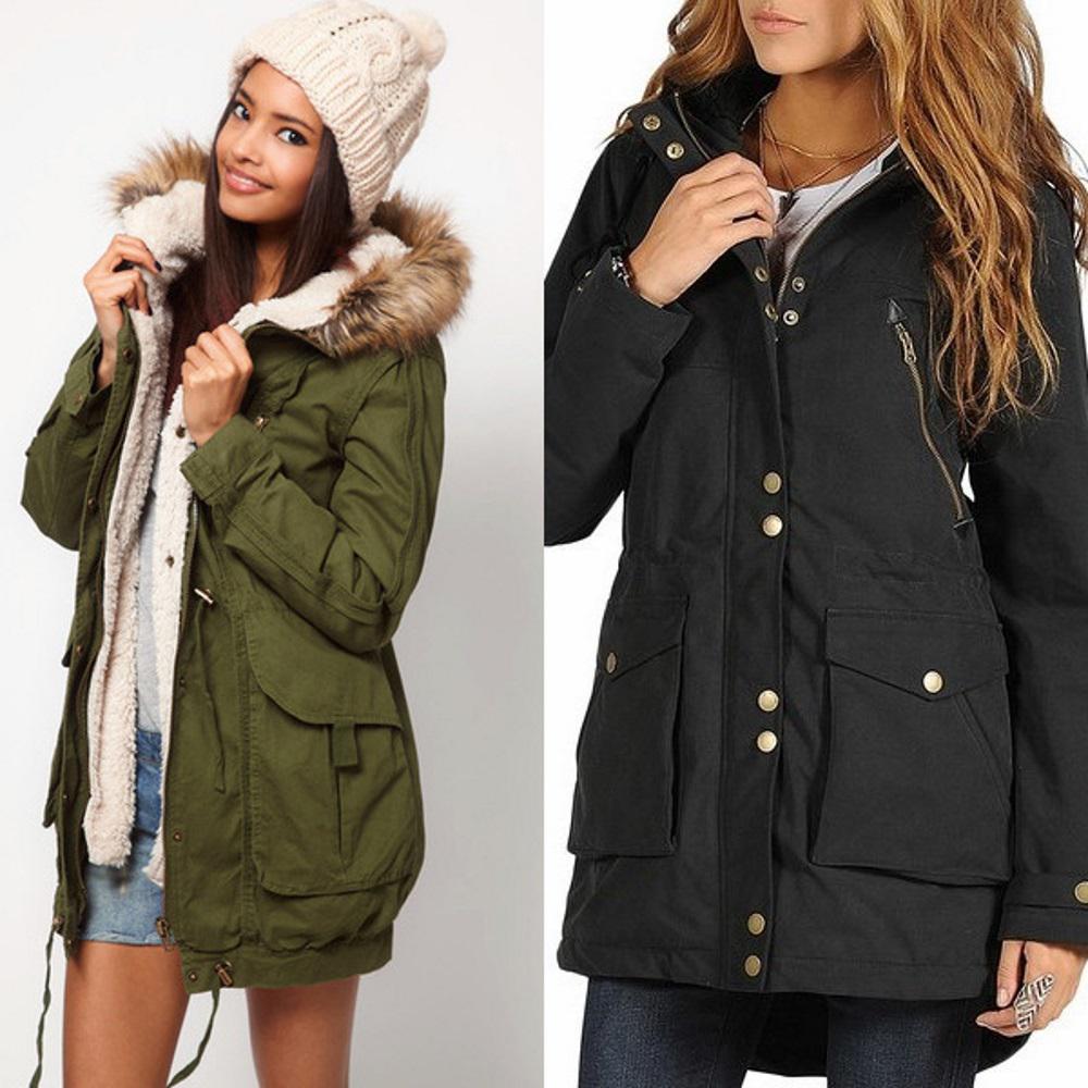 903b7457f86 Женские куртки-парки 2019 - модные образы