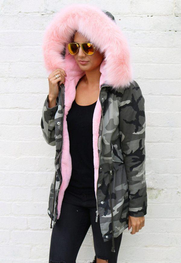 45330027 Женские куртки-парки 2019 - модные образы, новинки, 50 фото