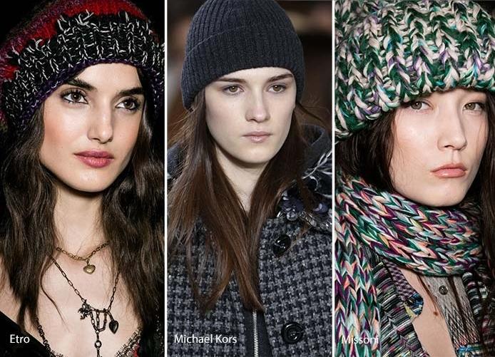 модные вязаные шапки зима 2018 что будет в тренде в новом сезоне