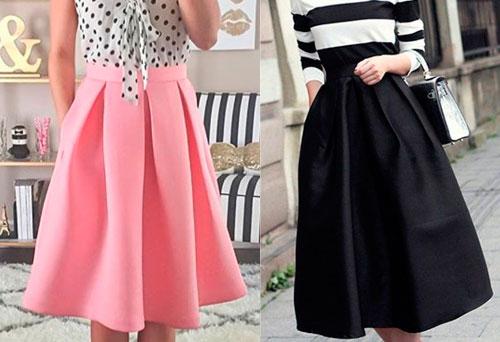 d164f7415e2 Стильная юбка в складку - универсальность и женственность
