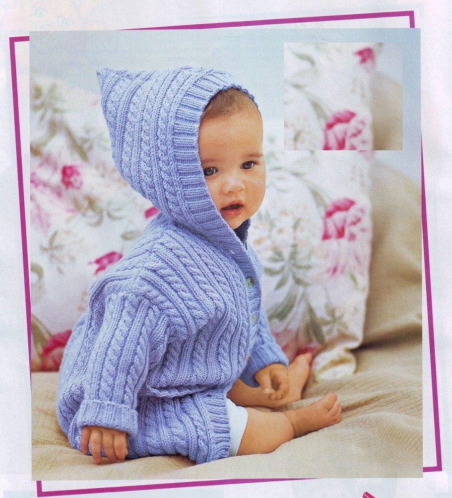 вязание спицами для новорожденных описание схемы мастер класс и