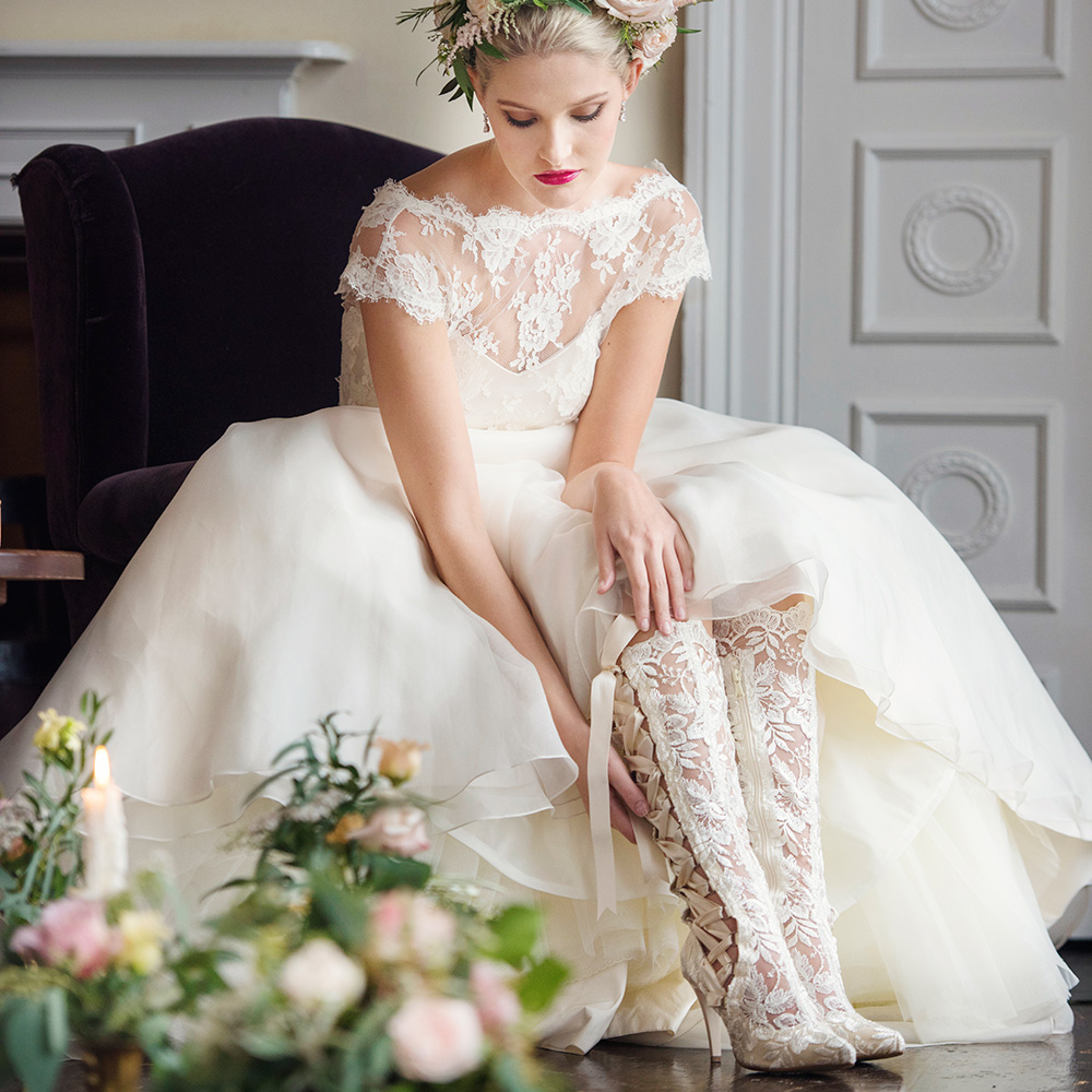 58adfa6da2b Белые свадебные сапожки