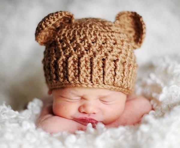 шапочка для новорожденного крючком схемы мастер класс и видео урок