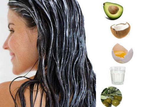 Маски для волос делают из самых разных ингредиентов