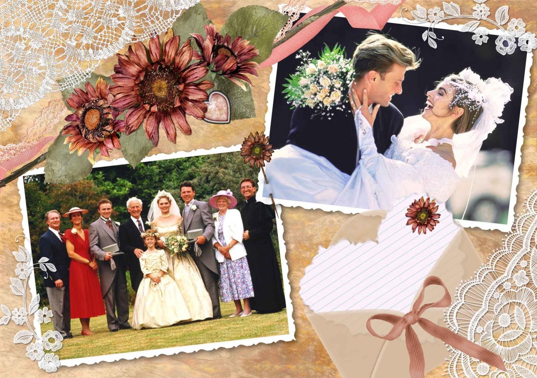 Свадебное поздравление коллаж