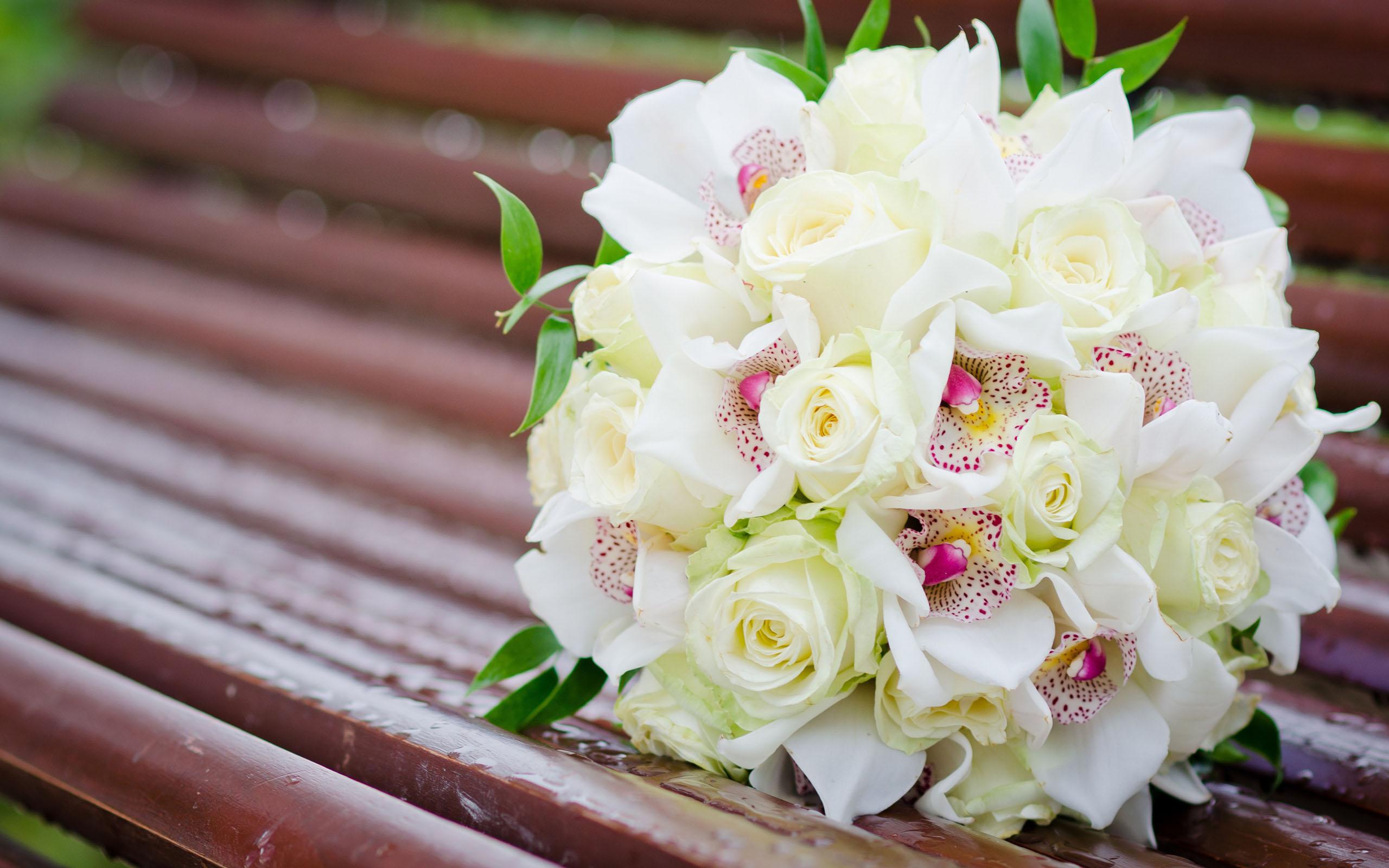 Красивый свадебный букет фото на рабочий стол