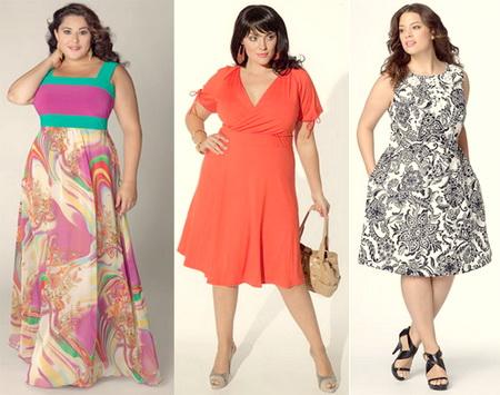 31a845b5779 Летние платья для полных женщин 2014 – фото