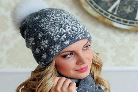 модные вязаные женские шапки 2014 2015 фото Feminissimoru