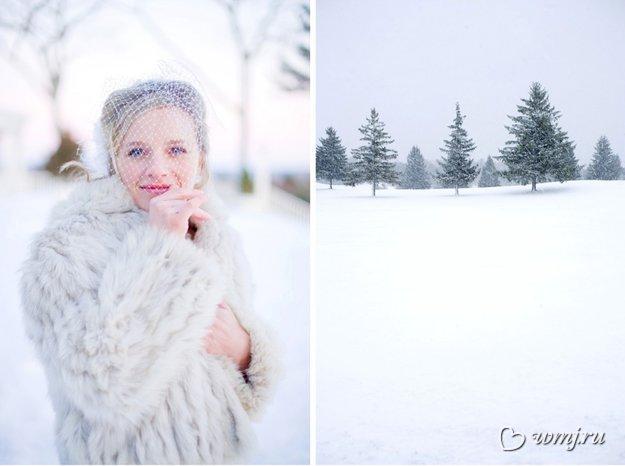 Зимние свадебные платья – фото