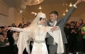 Кавказские свадебные платья – фото