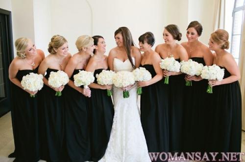 Подбираем красивое платье на свадьбу подруги фото