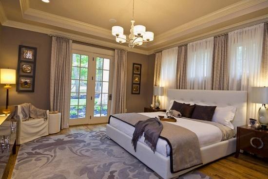 Дизайн спальни 14 кв. м в современном стиле