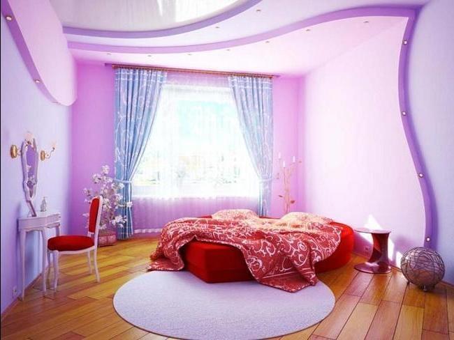 Дизайн для спальни подростка девочки