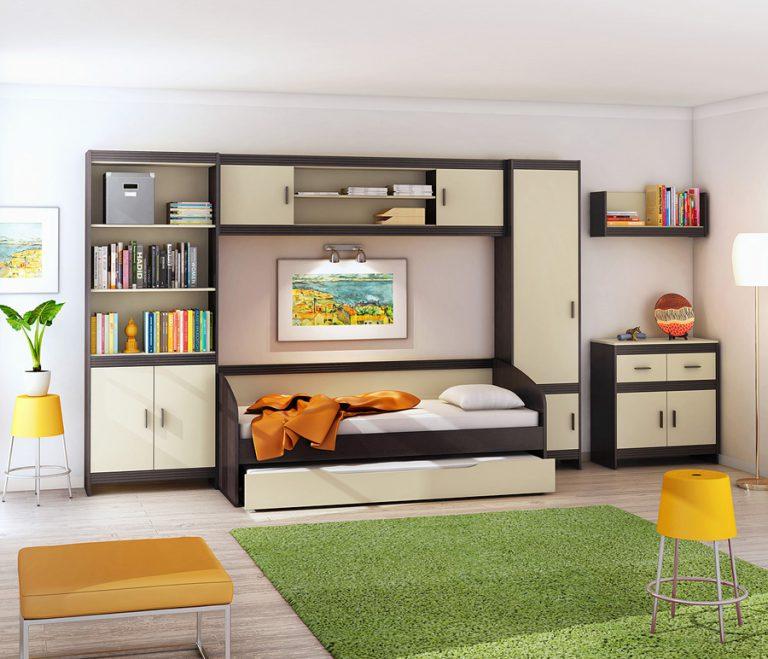 Организация пространства в комнате мальчика