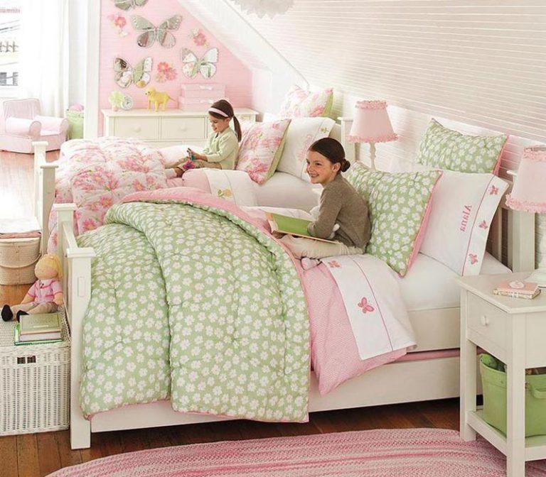 Комфортная комната для двух девочек