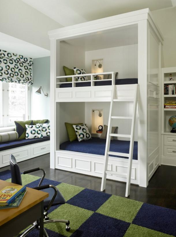 Комната мальчика и девочки: размещаем мебель