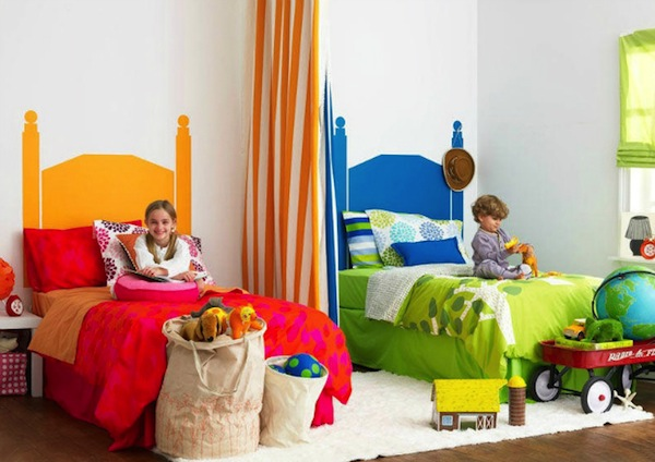 Дизайн детской комнаты для мальчика и девочки вместе