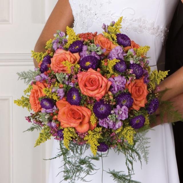Мастер класс по созданию свадебного букета из живых цветов