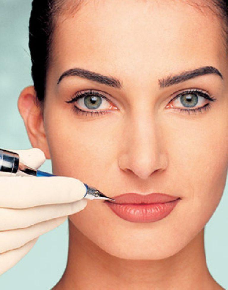Перманентный макияж губ (фото)