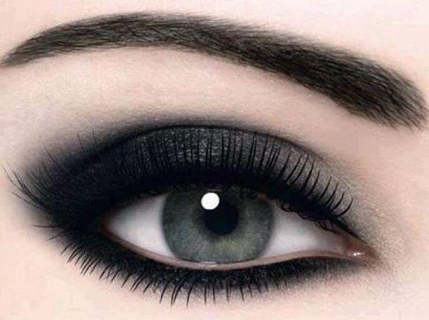 4239item Макияж Смоки Айс: техника. Смоки Айс для карих, зеленых, голубых и серых глаз, для глаз с нависшим веком