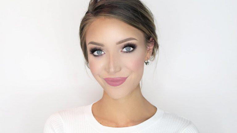 Безупречный макияж для девушек с русыми волосами и серыми глазами