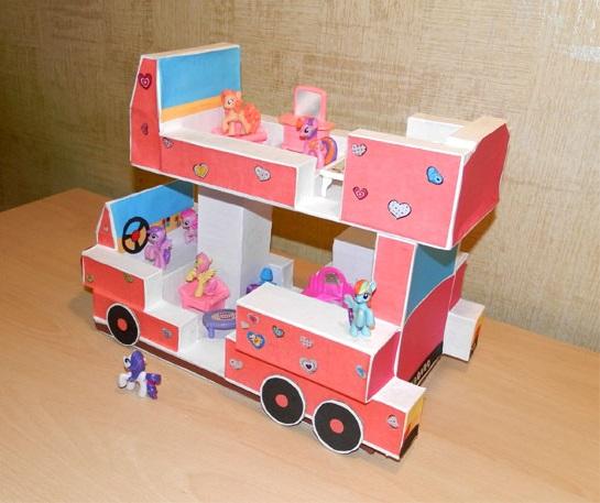 Автобус — Дом для Маленьких Пони