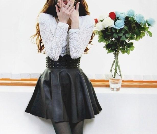 Юбка с широким поясом – модные фасоны, шьем юбку своими руками