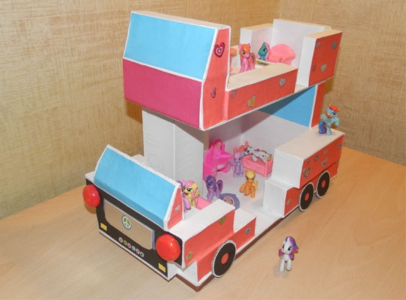 Автобус – Дом для Маленьких Пони