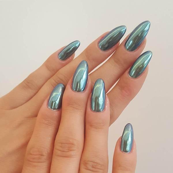 Жемчужная втирка для ногтей – актуальный тренд в ногтевом дизайне