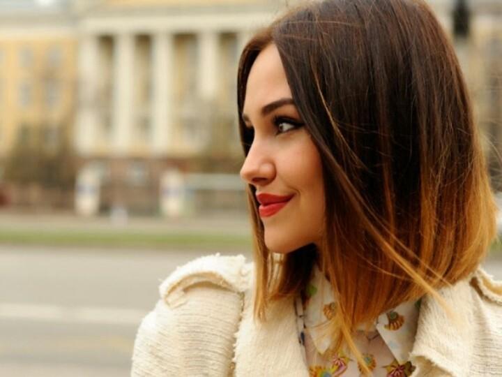 5344item Омбре на короткие волосы: варианты окрашивания, фото. Омбре окрашивание на темные короткие волосы и блонд в домашних условиях: фото