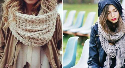 Модные шарфы 2019 – реализовываем тенденцию многослойности