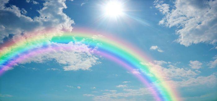 Стихи детские про радугу